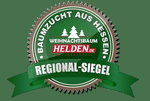 Weihnachtsbaum Helden Frankfurt Regional-Siegel Baumzucht aus Hessen