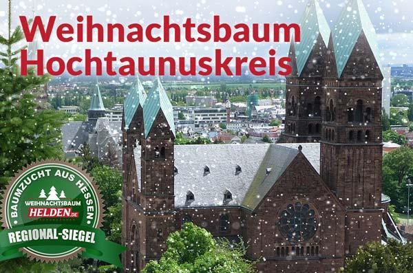 Weihnachtsbaum Helden Lieferung im Hochtaunuskreis bei Bad Homburg